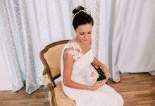 Prueba de vestido de novia by Carlos Lucca