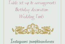 Wedding Bouquet & Boutonniere by Pumpkin and Roses Wedding Planner & Stylist
