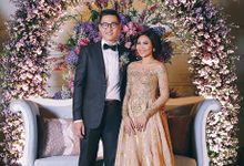 Wedding of Mr & Mrs Aprillio by A&E Tailors