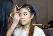 Smokey Makeup Look - Ms Faustine by Nathalia Tjan Makeup
