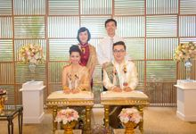 Rachel and Bruce Traditional & Western Ceremony at W retreat koh samui by BLISS Events & Weddings Thailand