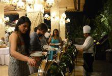 Wedding Dinner in Ubud by Ganesha ek Sanskriti Restaurant