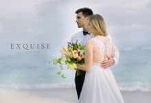 The Wedding of Evgenia & Pavel by Exquise Gowns