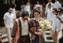 Finna & Agianda Wedding by Garland Galore Flower Shop