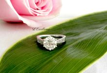 Engagement & Wedding Anniversary Rings by L'Excellence Diamond