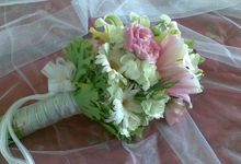 Bridal bouquets by Event Styling by Fleur Architect