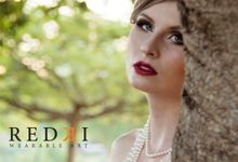 Jewels in the Park - A Winters Day by Redki - Couture Jewellery