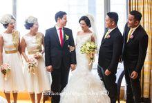 Wedding Aga & Eveline by STILETTO PAGAR AYU