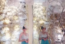 Wedding Qorina & Rifki by STILETTO PAGAR AYU
