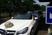 The Wedding of Riza & Yussi by sapphire wedding car
