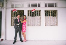 A national day and wedding day celebration by Glen Sin's Photography