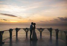 Romantic Oceanview Wedding of Erin & Dean in Bali by fire, wood & earth