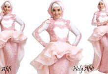 Garden journey Organza Rose by Wedding Dress Muslimah Designer