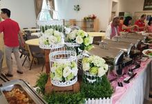 Church Wedding of Donald & Jane by Royal Catering Services Pte Ltd