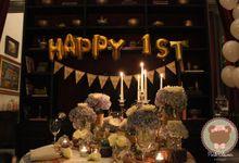 Rudy & Novi 1st Anniversary by Pink Clover Design