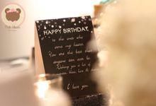 Surprise Birthday by Pink Clover Design
