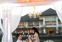 SAMUEL AND INDRI ROMANTIC DINNER PROPOSE by Rumah Luwih Beach Resort