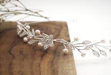 Headband with three flowers by ayyara