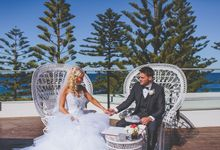Marquee Wedding by Novotel Wollongong Northbeach