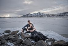 Iceland Winter Prewedding by Acapella Photography