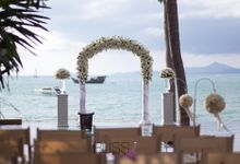 Sam and Jimson wedding private villa of Upni Duniya by BLISS Events & Weddings Thailand