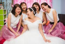 Romantic Pink and Gold Harmony by Chere Weddings & Parties
