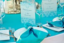 Tiffany Style Wedding by Royal Wedding Planner