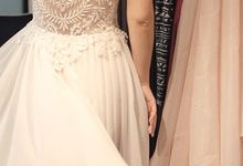 Offwhite for After Party Dress by Sisca Zh