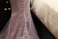Lavender Mermaid Gown by Sisca Zh