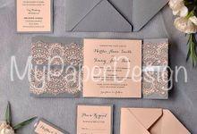 Invitation by Bride&Groom Invitation