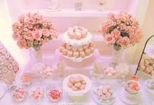 Catering Cakes by Patisserie du Bonheur