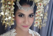 Safira & Gasik Wedding by Ira Makeup Artist