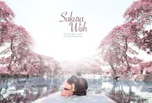 Sakura Wish - Ferdi & yenyen by XLO Photography