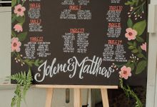Wedding of Jolene and Matthew by Rosette Designs & Co
