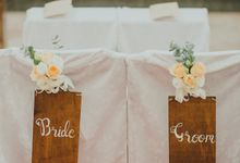 Wedding of Carl & Ling by Rosette Designs & Co