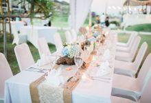 DINNER SETUP by Rumah Luwih Beach Resort