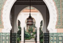 La Mamounia Wedding Marrakech by Catherine Mead Photography
