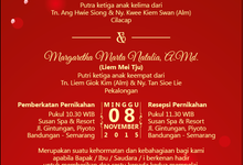 The Wedding of Hastono & Marta by Indah Baru