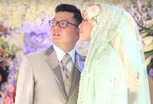 Wedding Highlight Dimas dan Riska by Jellymotion