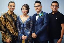Wedding of Johanna & Wisnu by SVARNA by IKAT Indonesia Didiet Maulana