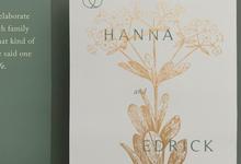 Hanna & Edrick by Parler Studio