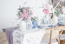 Rustic Modern Chinoiserie -  Styled Shoot by Designmill co.