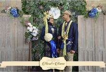 Nurul Baiti & Rama Wedding photobooth backdrop decoration by Nona Manis Creative Planner