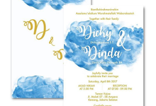 Dinda & Dicky Wedding Invitations by Tixxy Design