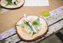 An Intimate Wedding With Rustic  Details by LITTLE ISLAND BREWING CO.