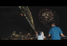 LDR - Reza & Sanny - Prewedding Film Sydney by Rangga Kioe Film