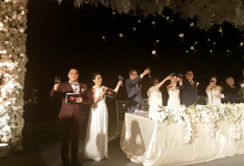 Hans & Sheila Wedding Reception at The Ritz Carlton Bali by MC Nirmala Trisna