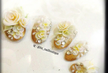 3d nail art by Brows To Toes