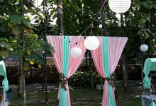 outdoor decorations by Party Planner Bogor