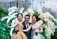 Bride reception of Careen Halim & Daniel Tjahjakartana by THE PRIME Event Planner